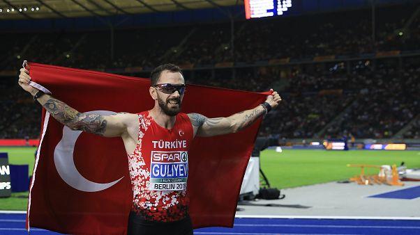 Milli atlet Ramil Guliyev Avrupa Atletizm Şampiyonası 200 metre finalinde altın madalya kazandı