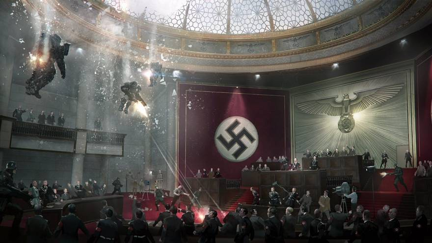 """ألمانيا ترفع الحظر عن ظهور """"شارب هتلر"""" و """"الصليب المعقوف"""" بألعاب الفيديو"""