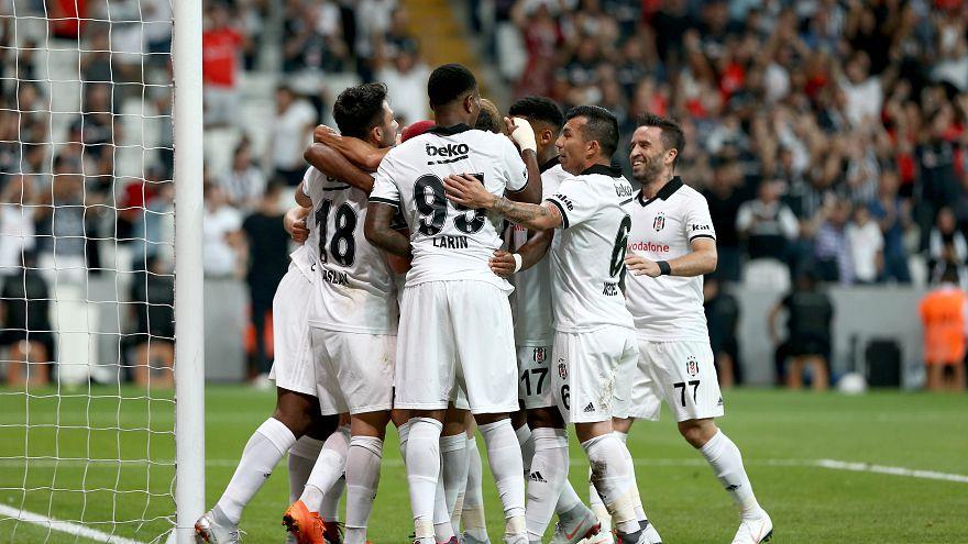Beşiktaş tur kapısını tek golle araladı: 1-0
