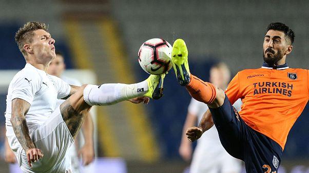 Medipol Başakşehir tur şansını rövanş maçına bıraktı: 0-0