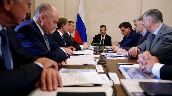 """Medwedew nennt neue US. Sanktionen """"Wirtschaftskrieg"""""""