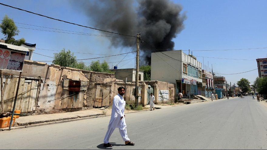 حمله گسترده طالبان به غزنی؛ از تصرف بر مرکز شهر تا دفع حملات