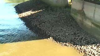 Az aszály háborús gránátokat hoz elő a folyókból