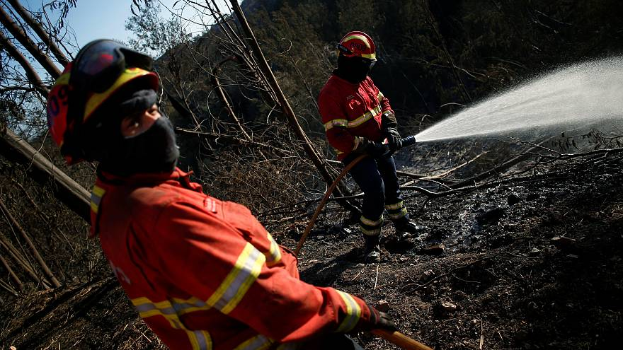 Algarve surveys damage as Portugal's wildfires continue to threaten