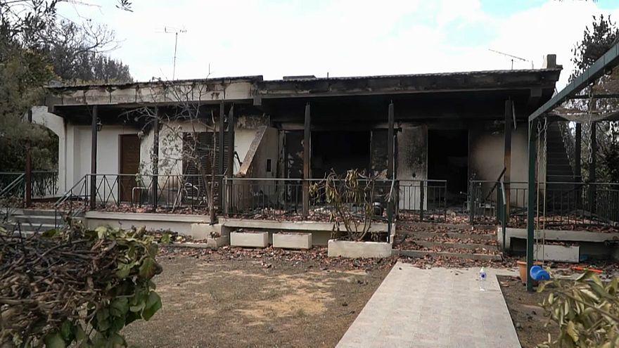 Governo grego admite gastar até 132 milhões com vítimas dos fogos