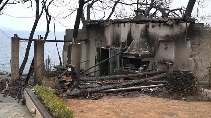 Segély a görög bozóttűz károsultjainak