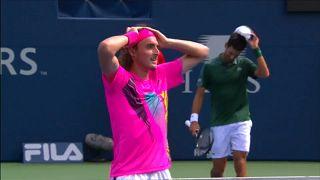 Wimbledonsieger Djokovic in Toronto gegen Teenager ausgeschieden