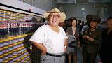 Kim Jong Un strips down in the Korean heatwave