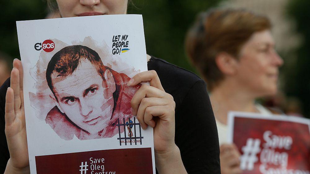 Ukranian political prisoner Sentsov in 'catastrophic' condition, cousin claims