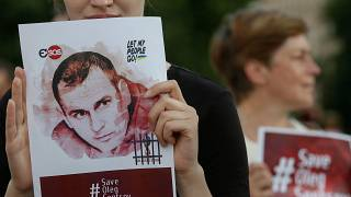 Ukrainian political prisoner Sentsov in 'catastrophic' condition, cousin claims