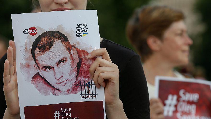 Ukrainian political prisoner Sentsov in 'catastrophic' condition, cousin claims