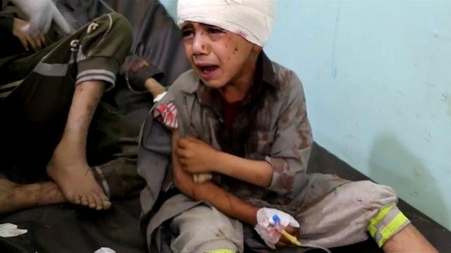 UNICEF: Yemen'de 2 bin 400 çocuk öldü