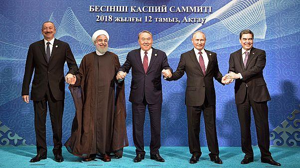 Declaração histórica sobre partilha do Mar Cáspio