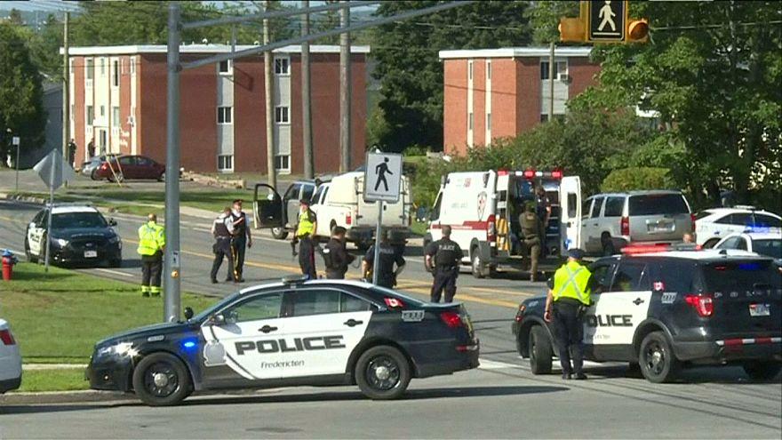 Как минимум 4 погибших в результате вооружённого нападения в Канаде