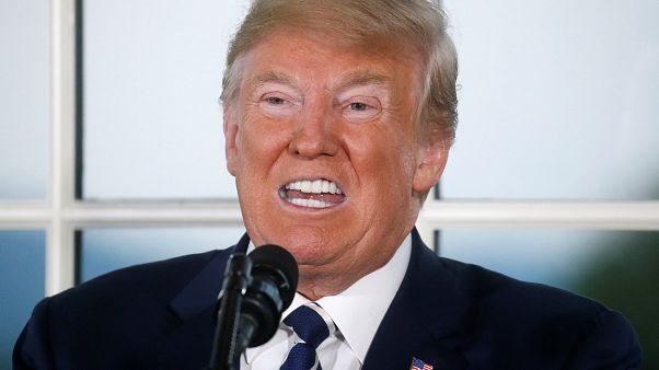 Trump: Türkiye'den çelik ihracatına olan vergiyi iki katına çıkarma kararı aldım