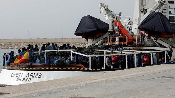 Kimentett szudáni menekült  Spanyolországban