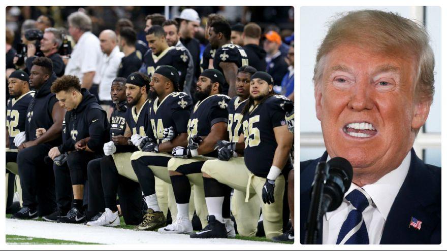 حمله مجدد ترامپ به ستاره های ورزش آمریکا