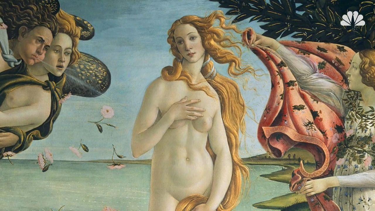 """Lo dicon tutte: """"La Venere del Botticelli era una mia antenata"""""""