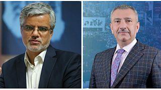 محمود صادقی نماینده مجلس ایران و فائق الشيخ علي نماینده مجلس عراق