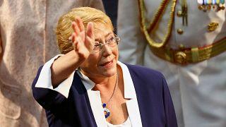 Die neue UN-Menschenrechtskommissarin Michelle Bachelet