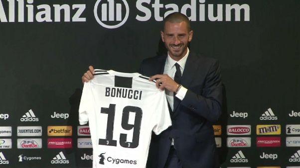 Bonucci bir yıl aradan sonra yeniden Juventus'ta