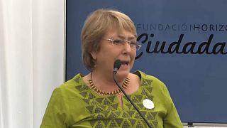 Michelle bachelet è il nuovo Alto Commissario dell'Onu per i diritti umani