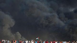 دو فلسطینی در مرز نوار غزه به ضرب گلوله سربازان اسرائیل کشته شدند