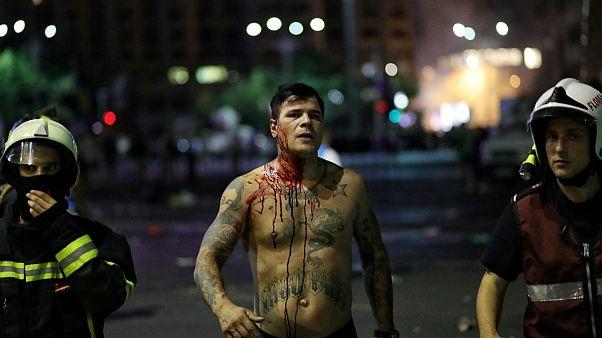 خشونت در تظاهرات ضد دولتی در رومانی؛ ۴۴۰ نفر زخمی شدند