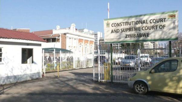 La oposición apela los resultados de las elecciones presidenciales en Zimbabue
