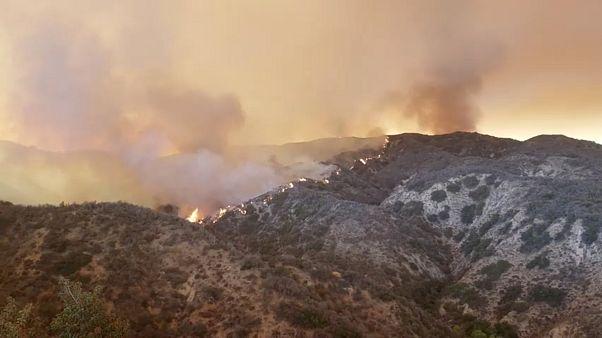 Californie : des milliers d'habitations menacées par les flammes