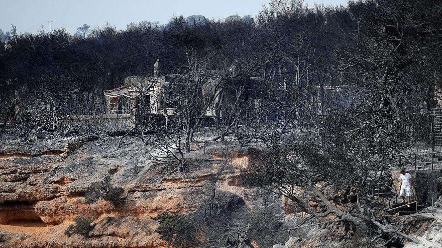 Список жертв пожаров в Греции вырос до 94 человек