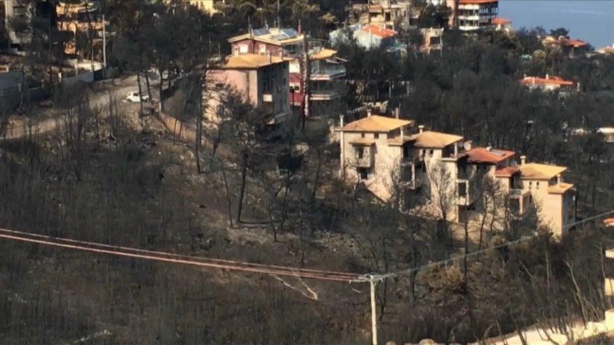 Aumenta el número de fallecidos por los incendios de Grecia