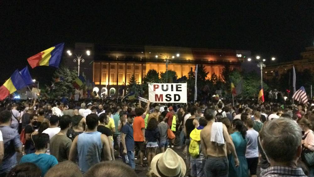 Unprecedented violence at anti-corruption protest in Bucharest: an eyewitness account