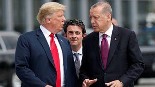 اردوغان: ترامپ یک کشیش آمریکایی را به ما ترجیح داده است