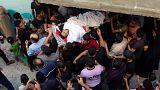 غزة تشيّع قتلاها الذين سقطوا في اشتباكات مع الجيش الإسرائيلي