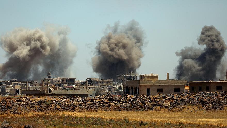 بساط من القصف على آخر معاقل المعارضة السورية وسقوط عشرات القتلى
