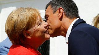 Entente entre Merkel et Sanchez sur les migrants