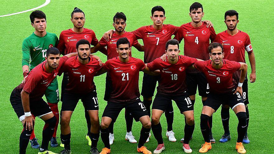Türkiye İşitme Engelliler Avrupa Futbol Şampiyonası'nda zafer elde etti