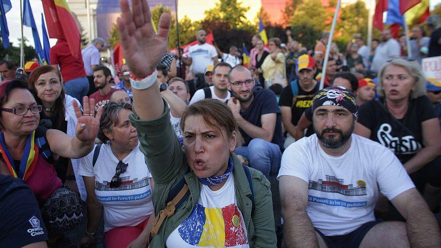 Segundo día de protestas masivas contra el Gobierno rumano