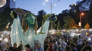 دومین روز از تظاهرات ضد فساد اقتصادی در رومانی
