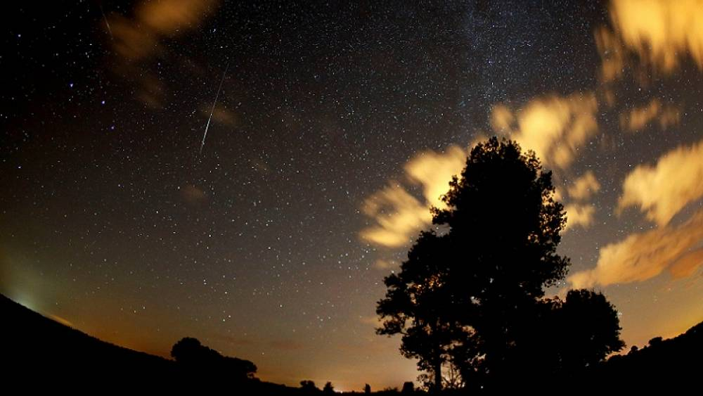 In pictures: Meteor shower lights up skies over Europe