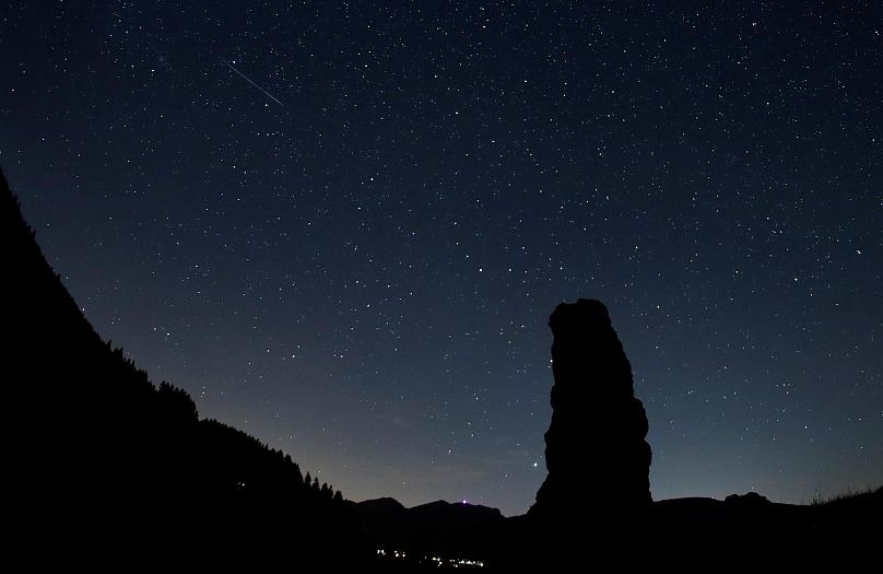 Photographers capture Perseid meteor shower