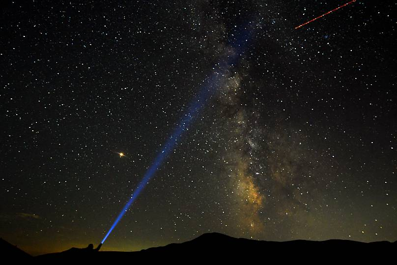 Perseid meteor shower lights up Georgia skies