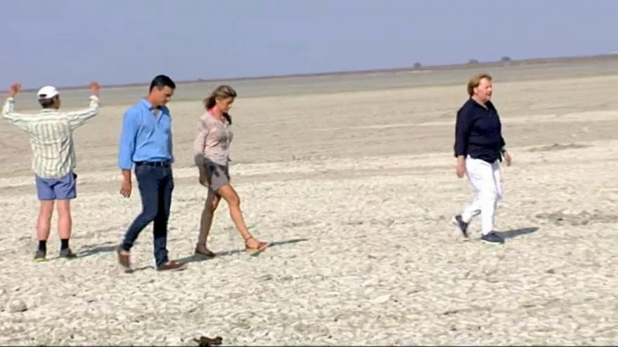 Trabajo y ocio para Pedro Sánchez y Angela Merkel en Doñana