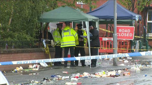 Diez heridos en un tiroteo en Manchester