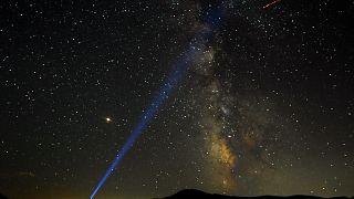 Perseids meteor shower lights up Bosnian sky