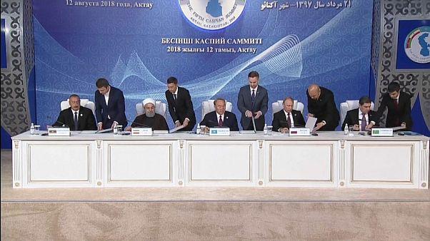 Mer Caspienne : un accord historique