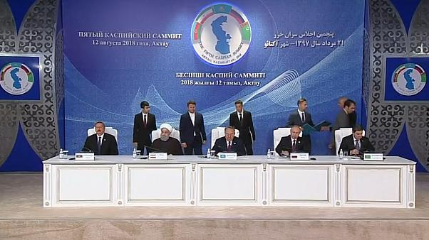 Caspian nations agree on division of oil and gas spoils