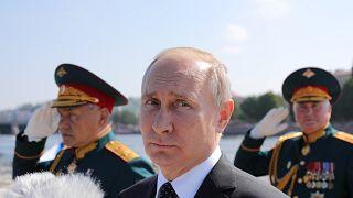 Wladimir Putin in St. Petersburg