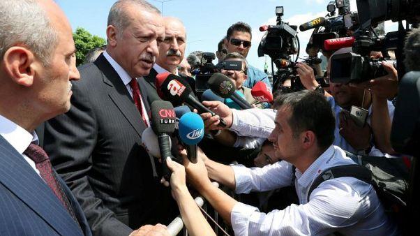 Turkey is 'target of economic war', Turkish president says
